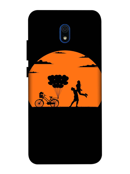 Xiaomi 3D Designer Lovely Couple in Night Printed Mobile Cover-Redmi8A-MOB003057