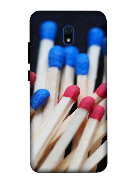 Xiaomi 3D Designer Match Sticks Printed Mobile Cover-Redmi8A-MOB003062