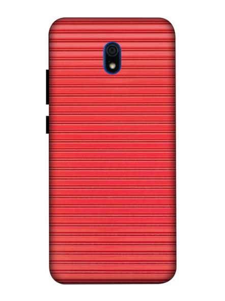 Xiaomi 3D Designer Peach Lines Printed Mobile Cover-Redmi8A-MOB003073