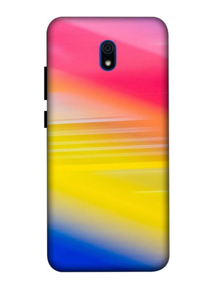 Xiaomi 3D Designer Random Catchy Colors Printed Mobile Cover-Redmi8A-MOB003082
