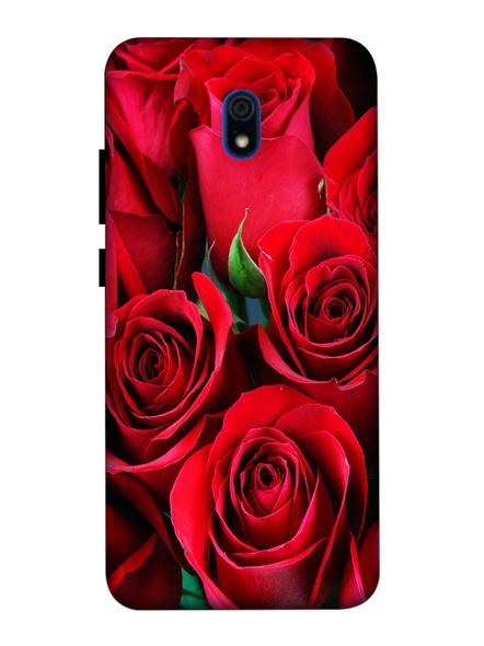 Xiaomi 3D Designer Red Roses Printed Mobile Cover-Redmi8A-MOB003083