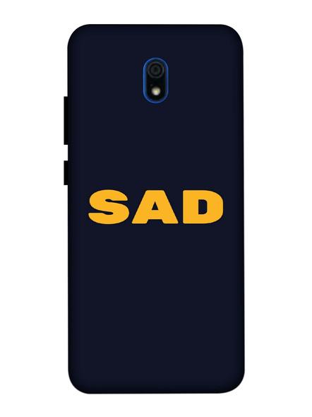 Xiaomi 3D Designer Sad Quote Printed Mobile Cover-Redmi8A-MOB003088