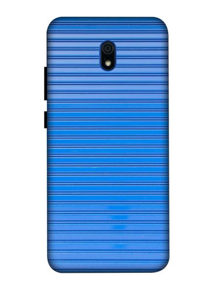 Xiaomi 3D Designer Skyblue Lines Printed Mobile Cover-Redmi8A-MOB003095