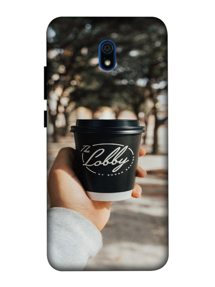 Xiaomi 3D Designer The Lobby Coffee Printed Mobile Cover-Redmi8A-MOB003102