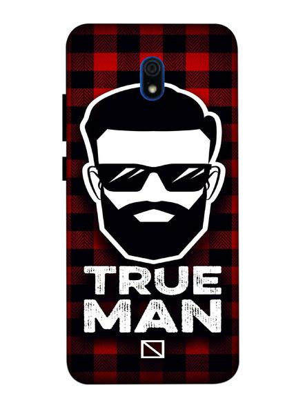 Xiaomi 3D Designer True Man Printed Mobile Cover-Redmi8A-MOB003106