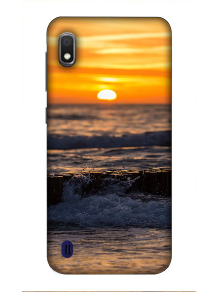Samsung 3D Designer Beach Sun Set Printed  Mobile Cover-SamsungA10-MOB002686