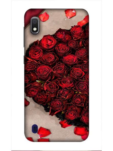 Samsung 3D Designer Beautiful Rose Love Printed  Mobile Cover-SamsungA10-MOB002687