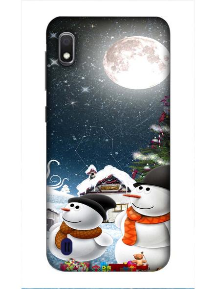 Samsung 3D Designer Christmas Night Printed  Mobile Cover-SamsungA10-MOB002729