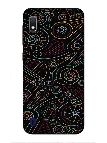 Samsung 3D Designer Designer Pattern Printed  Mobile Cover-SamsungA10-MOB002963
