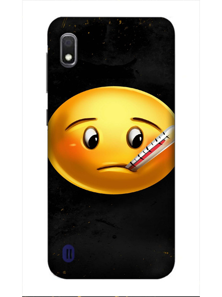 Samsung 3D Designer Fever Emoji Printed  Mobile Cover-SamsungA10-MOB002968