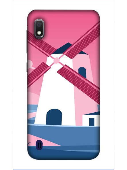 Samsung 3D Designer Field Fan Printed  Mobile Cover-SamsungA10-MOB002970