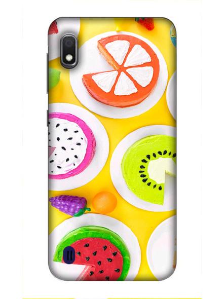 Samsung 3D Designer Fruits Donats Printed  Mobile Cover-SamsungA10-MOB002975