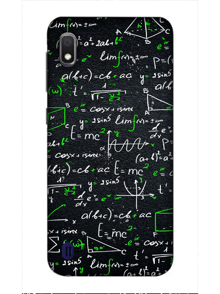 Samsung 3D Designer Maths Formulas Printed  Mobile Cover-SamsungA10-MOB003000