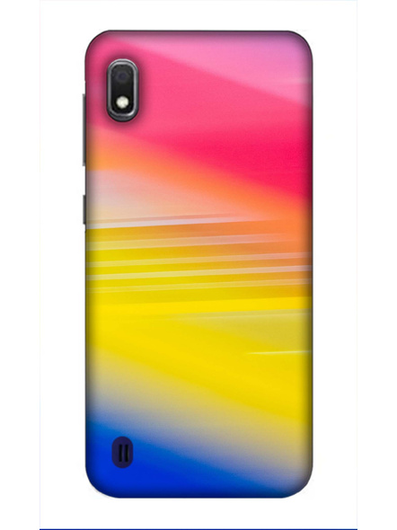 Samsung 3D Designer Random Catchy Colors Printed  Mobile Cover-SamsungA10-MOB003019