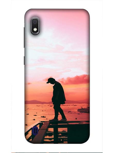 Samsung 3D Designer Thinking for Best Printed  Mobile Cover-SamsungA10-MOB003053