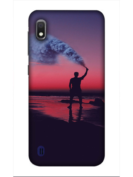 Samsung 3D Designer Victory Fog Printed  Mobile Cover-SamsungA10-MOB003058