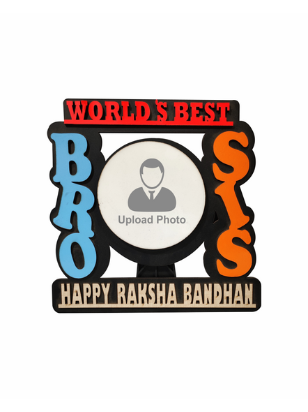Personalized Bro and Sis Table Frame-Brosis001aa
