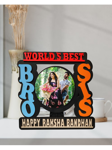 Personalized Bro and Sis Table Frame-1