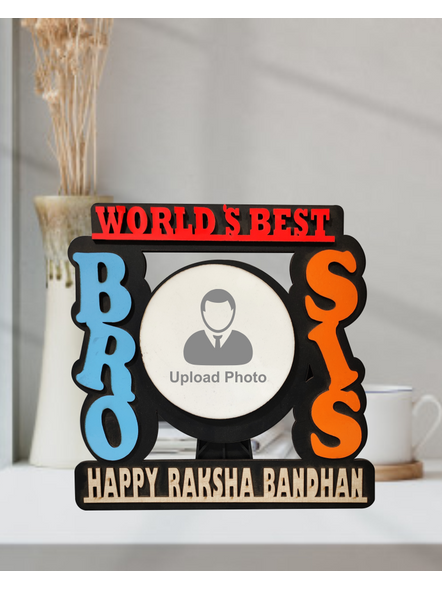 Personalized Bro and Sis Table Frame-2