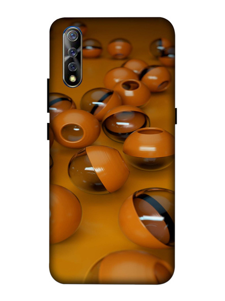 Vivo 3D Designer 3D Balls Printed Mobile Cover-VivoS1-MOB002410