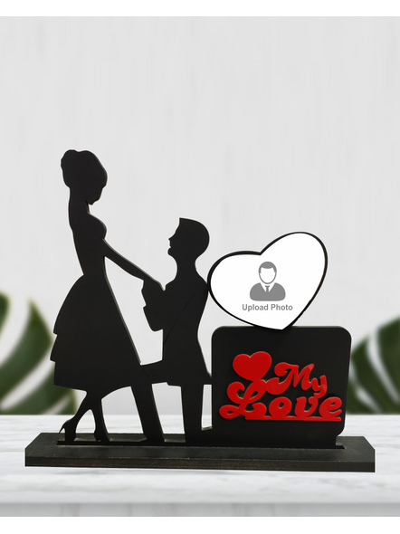 Personalized My Love 1 Photo Standing Couple Frame-1