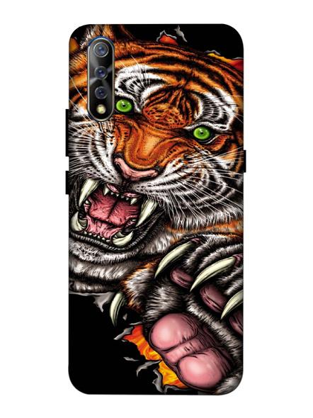 Vivo 3D Designer Angry Tiger Printed Mobile Cover-VivoS1-MOB002677