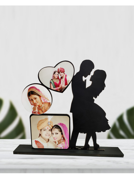 Personalized Proposing Couple 3 Photo Standing Couple Frame-2
