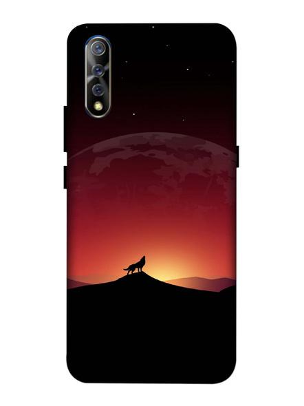 Vivo 3D Designer Beautiful Fox in Evening Printed Mobile Cover-VivoS1-MOB002706