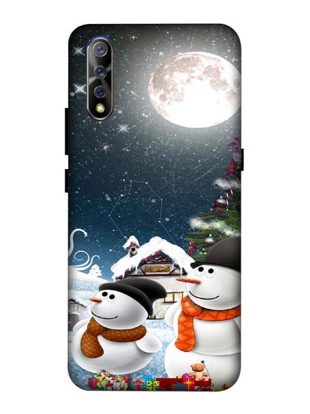 Vivo 3D Designer Christmas Night Printed Mobile Cover-VivoS1-MOB002963