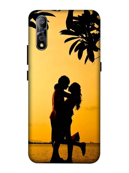 Vivo 3D Designer Couple in the Evening Printed Mobile Cover-VivoS1-MOB002967