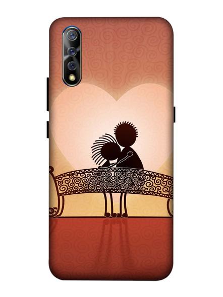 Vivo 3D Designer Couple Love Making Heart Printed Mobile Cover-VivoS1-MOB002970