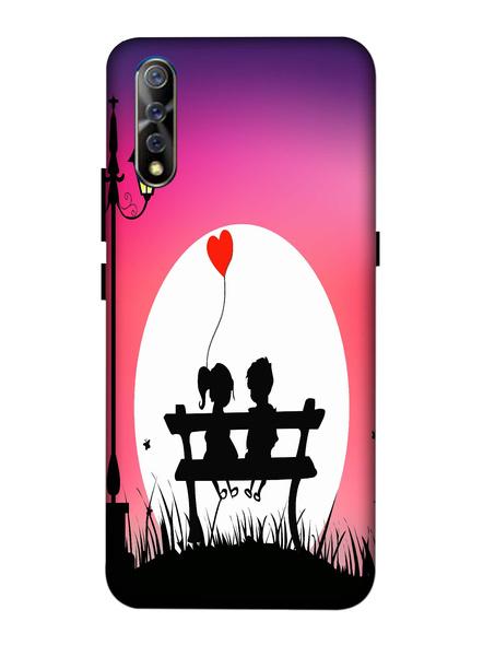 Vivo 3D Designer Couple Talking in Garden Printed Mobile Cover-VivoS1-MOB002984