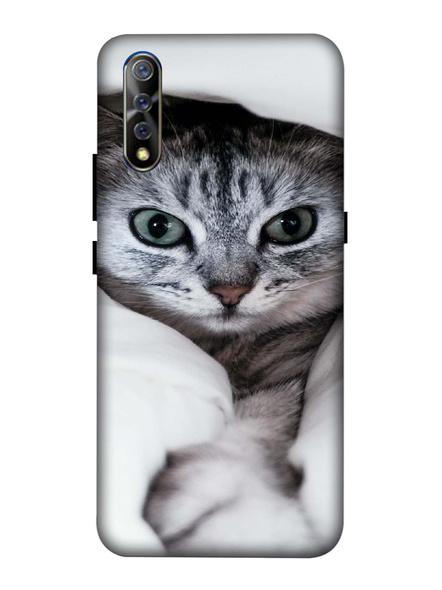 Vivo 3D Designer Cute Kitty Cat Printed Mobile Cover-VivoS1-MOB002988
