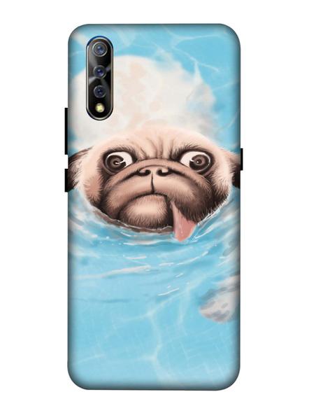 Vivo 3D Designer Cute Pug Face Printed Mobile Cover-VivoS1-MOB002993