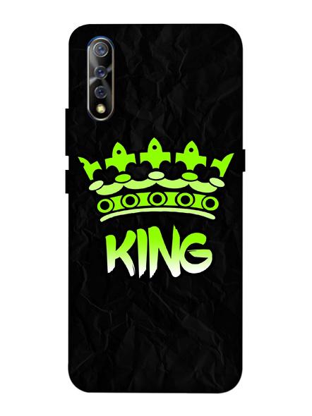Vivo 3D Designer King Crown Printed Mobile Cover-VivoS1-MOB003041