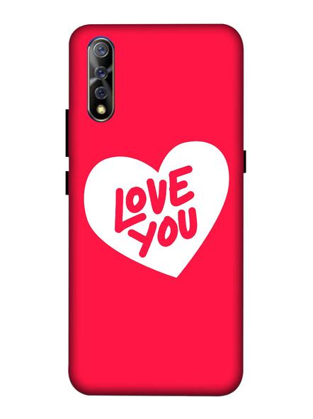 Vivo 3D Designer Love You Hearts Printed Mobile Cover-VivoS1-MOB003056
