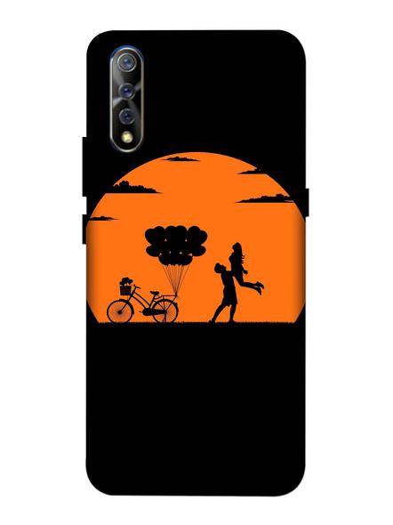 Vivo 3D Designer Lovely Couple in Night Printed Mobile Cover-VivoS1-MOB003057