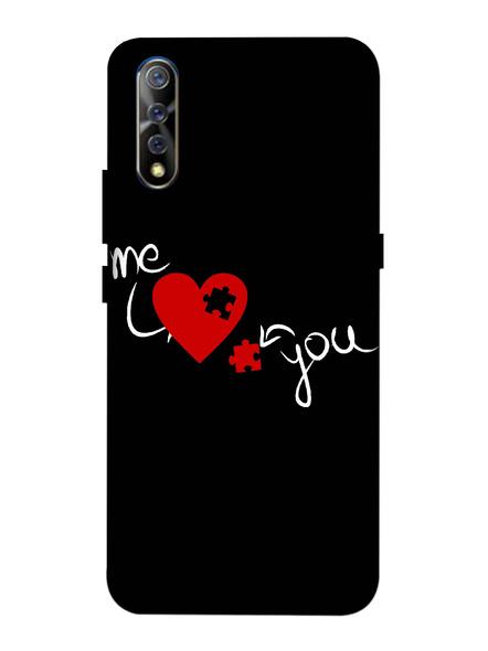 Vivo 3D Designer Me Love Puzzle Printed Mobile Cover-VivoS1-MOB003065