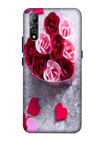 Vivo 3D Designer Multicolor Roses Printed Mobile Cover-VivoS1-MOB003069