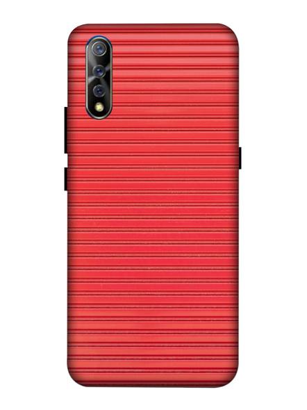 Vivo 3D Designer Peach Lines Printed Mobile Cover-VivoS1-MOB003073