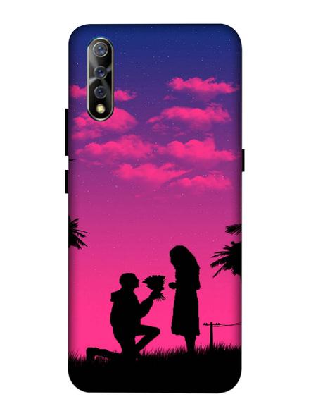 Vivo 3D Designer Proposing Couple Printed Mobile Cover-VivoS1-MOB003077