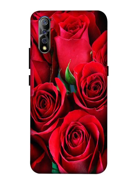 Vivo 3D Designer Red Roses Printed Mobile Cover-VivoS1-MOB003083