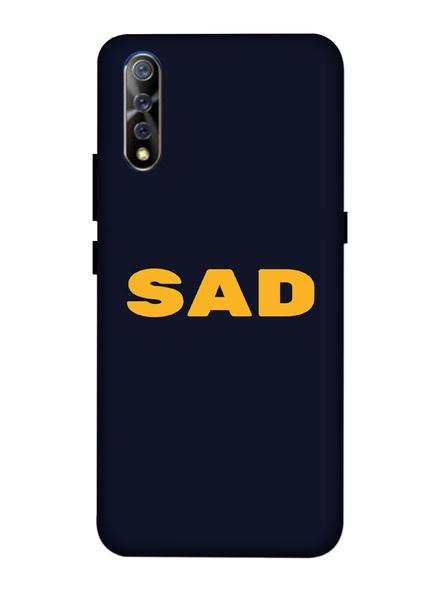 Vivo 3D Designer Sad Quote Printed Mobile Cover-VivoS1-MOB003088