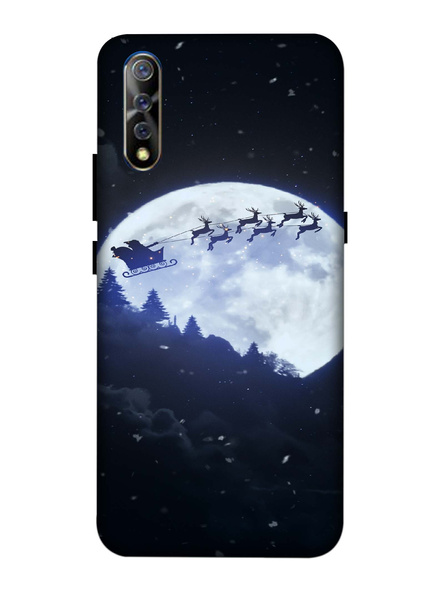 Vivo 3D Designer Santa Going Home Printed Mobile Cover-VivoS1-MOB003092