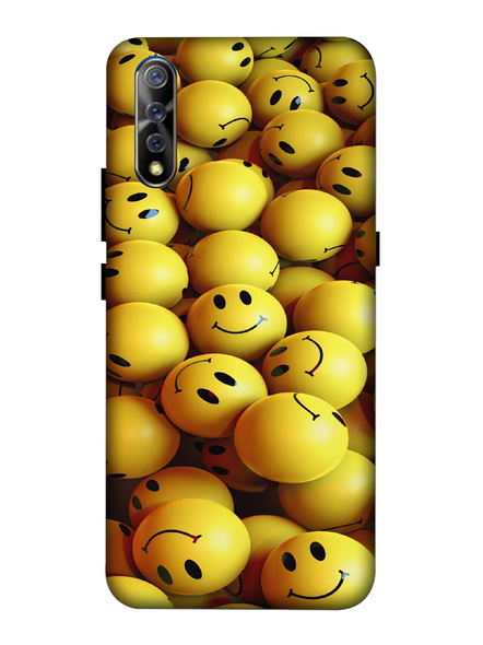 Vivo 3D Designer Smilies Balls Printed Mobile Cover-VivoS1-MOB003096