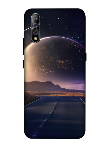Vivo 3D Designer Universe View Printed Mobile Cover-VivoS1-MOB003107