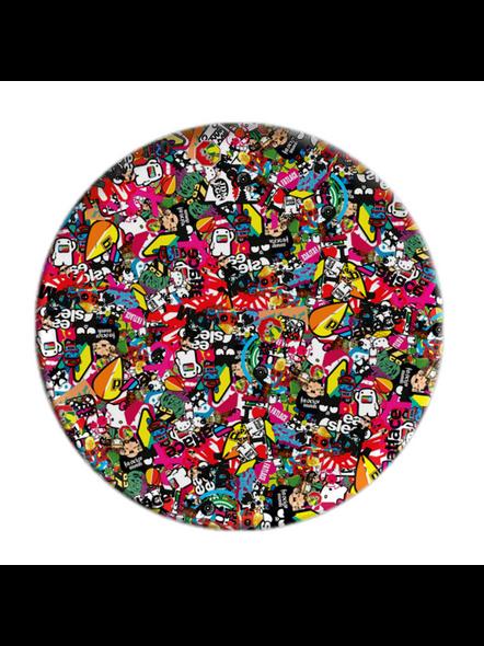 Mixed Designer Elegent Pop Socket-POPS0002A