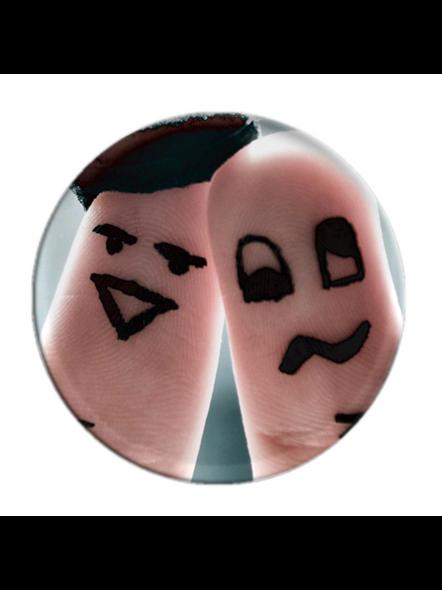Love Finger Art Printed Pop Socket-POPS0010A