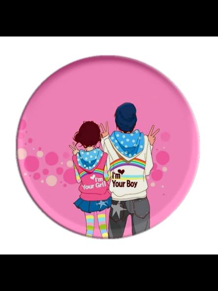 Couple Love Printed Designer Pop Socket-POPS0012A