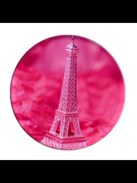Pink Effel Tower Printed Pop Socket-POPS0014A